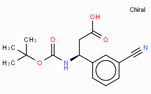 Boc-(S)-3-Amino-3-(3-cyano-phenyl)-propionic acid