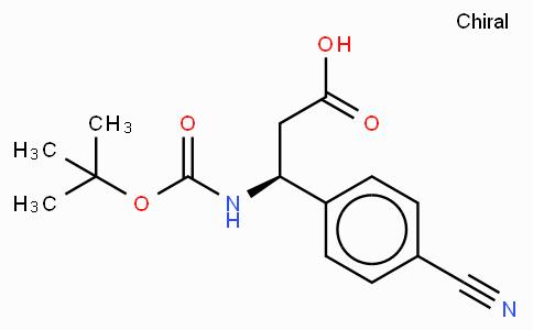 Boc-(S)-3-Amino-3-(4-cyano-phenyl)-propionic acid