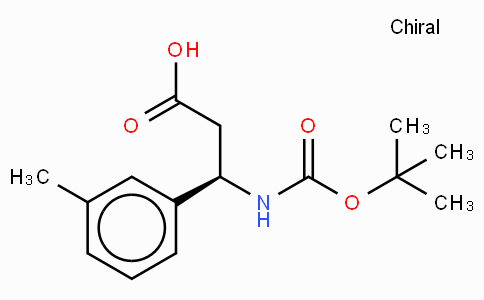 Boc-(R)-3-Amino-3-(3-methyl-phenyl)-propionic acid