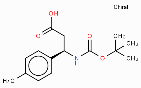 Boc-(R)-3-Amino-3-(4-methyl-phenyl)-propionic acid