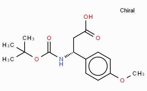Boc-(R)-3-Amino-3-(4-methoxy-phenyl)-propionic acid