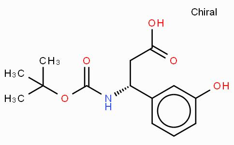 Boc-(R)-3-Amino-3-(3-hydroxy-phenyl)-propionic acid