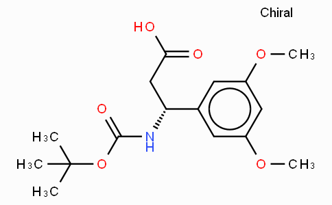 Boc-(R)-3-Amino-3-(3,5-dimethoxy-phenyl)-propionic acid
