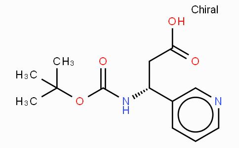Boc-(R)-3-Amino-3-(3-pyridyl)-propionic acid