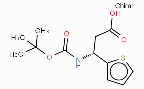 Boc-(R)-3-Amino-3-(2-thienyl)-propionic acid