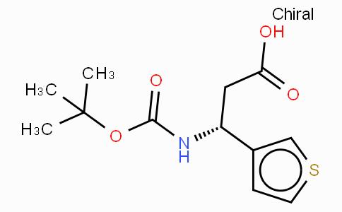 Boc-(R)-3-Amino-3-(3-thienyl)-propionic acid