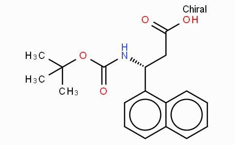 Boc-(R)-3-Amino-3-(1-naphthyl)-propionic acid