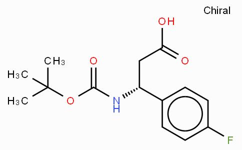 Boc-(R)-3-Amino-3-(4-fluoro-phenyl)-propionic acid
