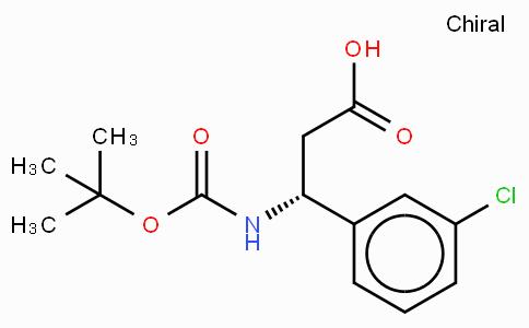 Boc-(R)-3-Amino-3-(3-chloro-phenyl)-propionic acid