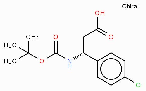 Boc-(R)-3-Amino-3-(4-chloro-phenyl)-propionic acid