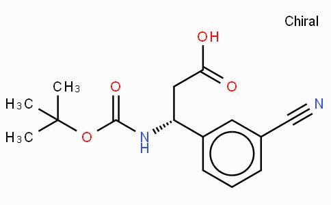 Boc-(R)-3-Amino-3-(3-cyano-phenyl)-propionic acid