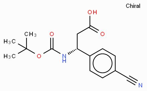 Boc-(R)-3-Amino-3-(4-cyano-phenyl)-propionic acid