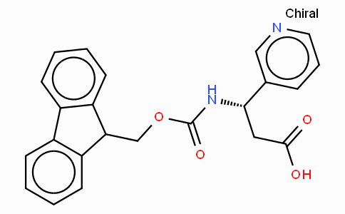 Fmoc-(S)-3-Amino-3-(3-pyridyl)-propionic acid