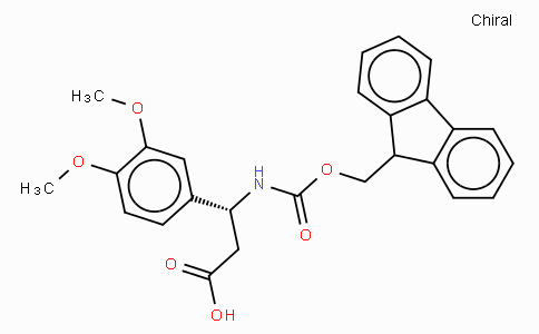 Fmoc-(R)-3-Amino-3-(3,4-dimethoxy-phenyl)-propionic acid