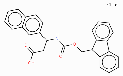 Fmoc-(R)-3-Amino-3-(2-naphthyl)-propionic acid