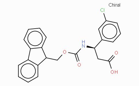 Fmoc-(R)-3-Amino-3-(3-chloro-phenyl)-propionic acid