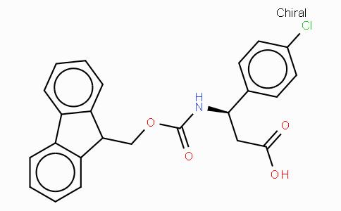 Fmoc-(R)-3-Amino-3-(4-chloro-phenyl)-propionic acid
