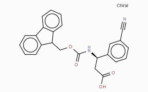 Fmoc-(R)-3-Amino-3-(3-cyano-phenyl)-propionic acid