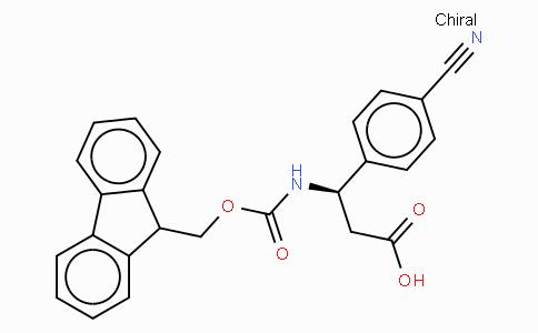 Fmoc-(R)-3-Amino-3-(4-cyano-phenyl)-propionic acid