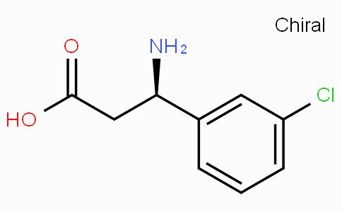 (R)-3-Amino-3-(3-chloro-phenyl)-propionic acid