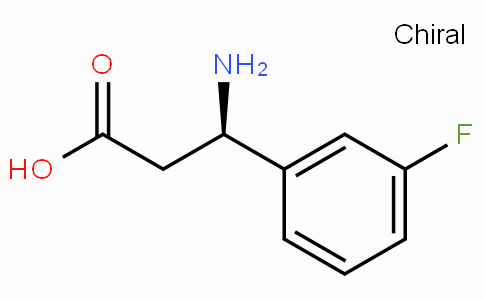 (R)-3-Amino-3-(3-fluoro-phenyl)-propionic acid