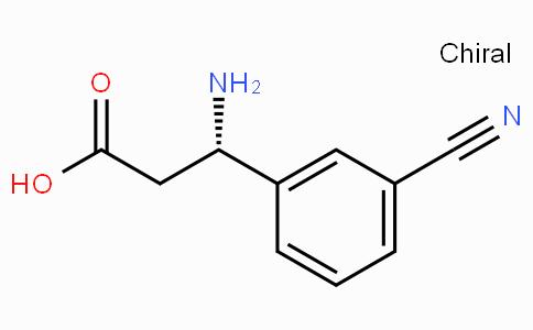 (S)-3-Amino-3-(3-cyano-phenyl)-propionic acid