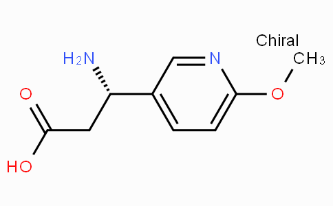 (S)-3-Amino-3-(6-methoxy-3-pyridyl)-propionic acid
