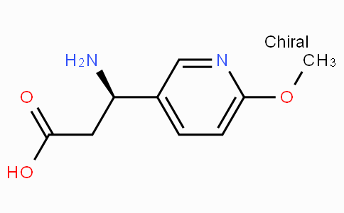 (R)-3-Amino-3-(6-methoxy-3-pyridyl)-propionic acid