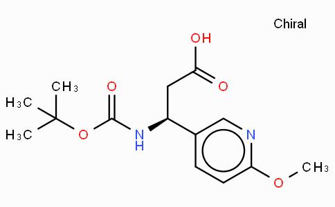 Boc-(S)-3-Amino-3-(6-methoxy-3-pyridyl)-propionic acid