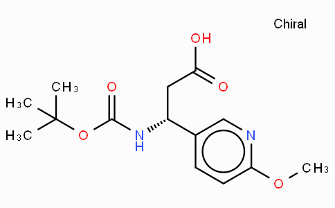 Boc-(R)-3-Amino-3-(6-methoxy-3-pyridyl)-propionic acid