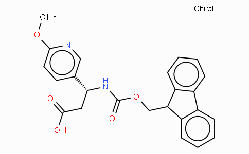 Fmoc-(R)-3-Amino-3-(6-methoxy-3-pyridyl)-propionic acid