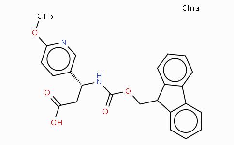 Fmoc-(R)-3-Amino-3-(6-methoxy-3-pyridyl)-propionic acid