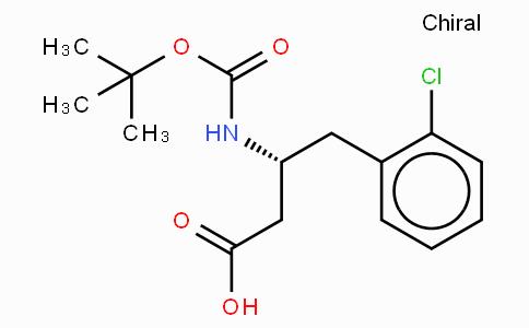 Boc-(R)-3-Amino-4-(2-chloro-phenyl)-butyric acid