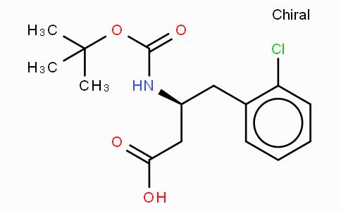 Boc-(S)-3-Amino-4-(2-chloro-phenyl)-butyric acid