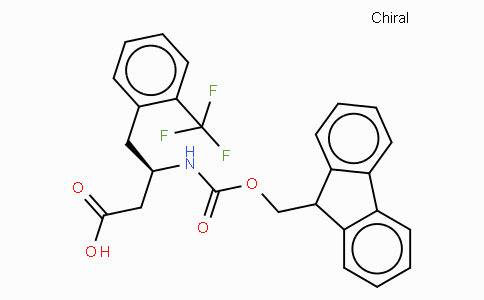 Fmoc-(R)-3-Amino-4-(2-trifluoromethyl-phenyl)-butyric acid