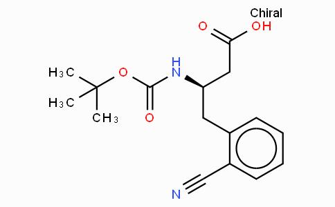 Boc-(R)-3-Amino-4-(2-cyano-phenyl)-butyric acid