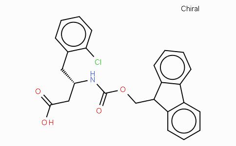 Fmoc-(S)-3-Amino-4-(2-chloro-phenyl)-butyric acid