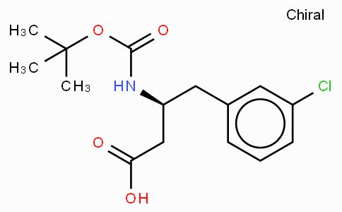 Boc-(S)-3-Amino-4-(3-chloro-phenyl)-butyric acid