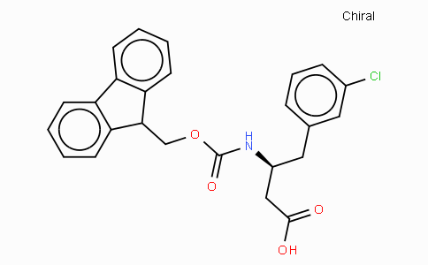 Fmoc-(S)-3-Amino-4-(3-chloro-phenyl)-butyric acid