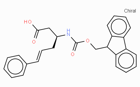 Fmoc-(S)-3-Amino-(6-phenyl)-5-hexenoic acid