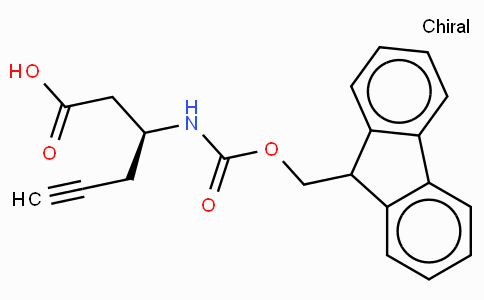 Fmoc-(S)-3-Amino-5-hexynoic acid