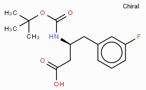 Boc-(S)-3-Amino-4-(3-fluoro-phenyl)-butyric acid