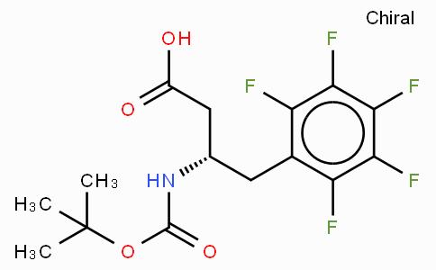 Boc-(S)-3-Amino-4-(pentafluoro-phenyl)-butyric acid