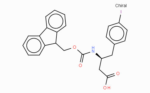 Fmoc-(S)-3-Amino-4-(4-iodo-phenyl)-butyric acid