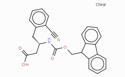 Fmoc-(S)-3-Amino-4-(2-cyano-phenyl)-butyric acid