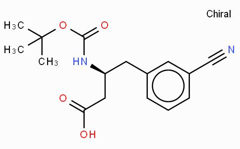 Boc-(S)-3-Amino-4-(3-cyano-phenyl)-butyric acid