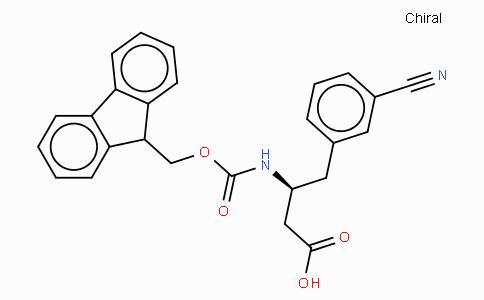 Fmoc-(S)-3-Amino-4-(3-cyano-phenyl)-butyric acid