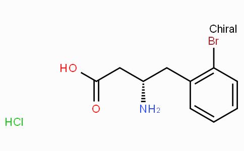 (S)-3-Amino-4-(2-bromo-phenyl)-butyric acid-HCl