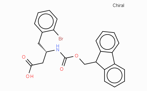 Fmoc-(S)-3-Amino-4-(2-bromo-phenyl)-butyric acid