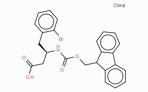 Fmoc-(R)-3-Amino-4-(2-bromo-phenyl)-butyric acid